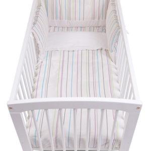 Afbeelding van Childhome - Bedbeschermer 35x170 - Coloured Lines