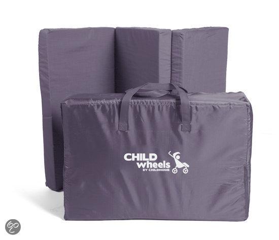 childwheels matras campingbedje antraciet zwanger en ouder shop. Black Bedroom Furniture Sets. Home Design Ideas