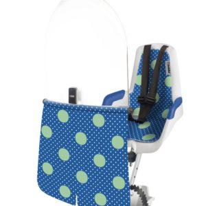 Afbeelding van Bobike - Mini Classic Fietsstoeltje met Kussenset - Limited Jubilee Edition Blauw