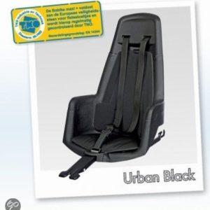 Afbeelding van Bobike - Maxi+ Fietsstoeltje met Kussenset - Zwart