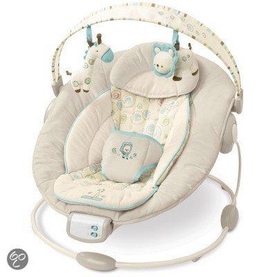 Automatische Wipstoel Baby.Bright Starts Comfort And Harmony Wipstoel Biscotti Baby