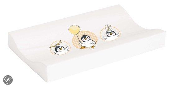 Afbeelding van bébé-jou - Waskussen Pinguïn - Licht oranje