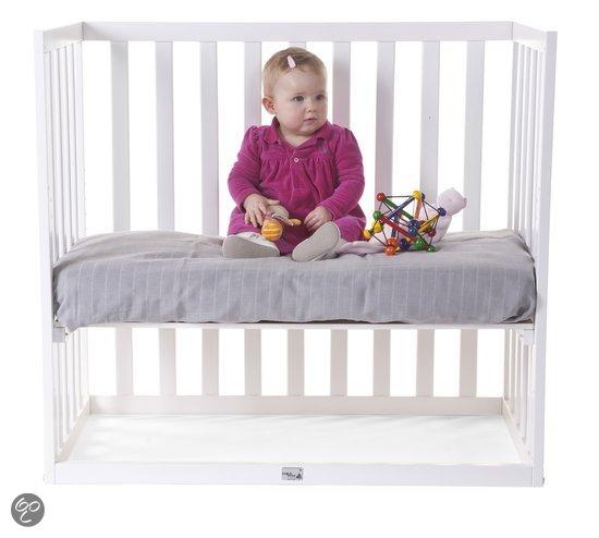 Hedendaags Childhome - Wit aanschuifbed in beuk - Zwanger en Ouder Shop FQ-19