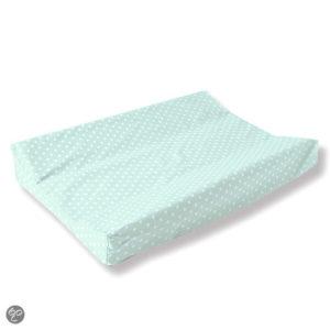 Afbeelding van Cottonbaby - Aankleedkussenhoes Sterretjes - Mint