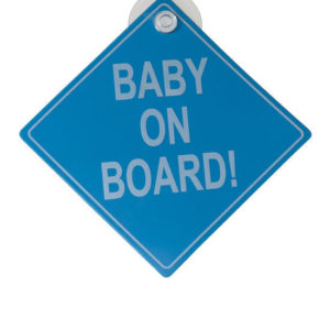 Afbeelding van Babsana - Baby on Board - Blue