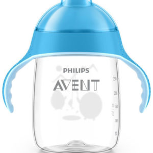Afbeelding van Philips Avent - Beker met drinktuit SCF755/05 - 340 ml - Blauw