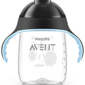 Afbeelding van Philips Avent - Beker met drinktuit SCF755/03 - 340 ml - Zwart