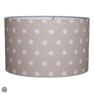 Afbeelding van Little Dutch Nachtlampje Hanglamp Ster Beige/Wit