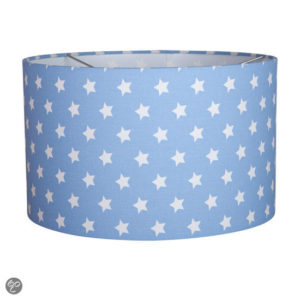Afbeelding van Little Dutch Nachtlampje Hanglamp Ster Lichtblauw/Wit