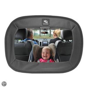 Afbeelding van A3 Baby & Kids - extra grote autospiegel - zwart