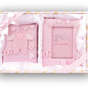 Afbeelding van Baby Cadeauset Roze