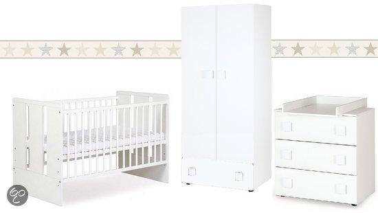 Hoogte Commode Babykamer : Mamaloes complete babykamer teuntje wit zwanger en ouder shop