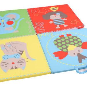 Afbeelding van 4 Fold Mattress 2 Play and Sleep