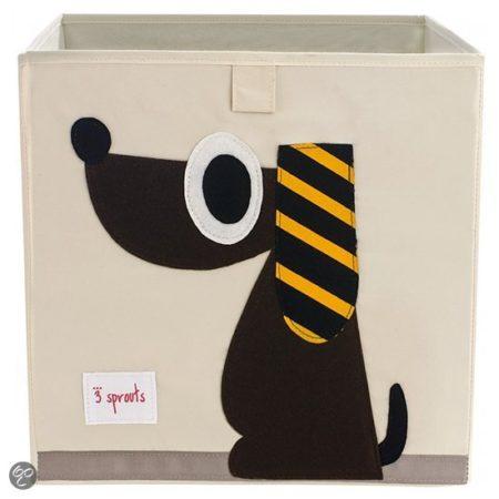Afbeelding van 3 Sprouts opbergdoos - Hond
