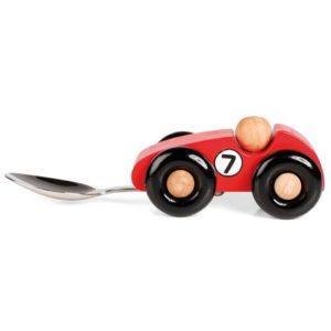 Afbeelding van Baby lepel - Racewagen
