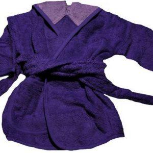 Afbeelding van Badjas 1 tot 2 jaar paars/lila