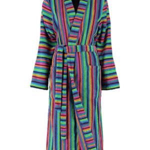 Afbeelding van Cawo dames badjas badstof multicolor maat 42