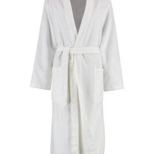 Afbeelding van Cawö dames badjas velours  wit  maat 36