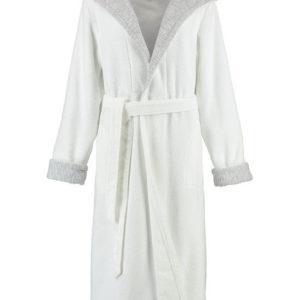 Afbeelding van Cawo dames badjas badstof met capuchon wit maat 38