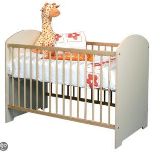 Afbeelding van Baby ledikant Pim - kleur Ecru