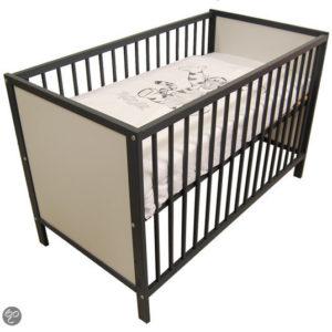 Afbeelding van Baby ledikant gesloten - kleur Antraciet