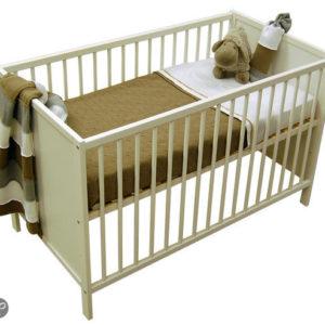 Afbeelding van Baby ledikant gesloten - kleur Wit