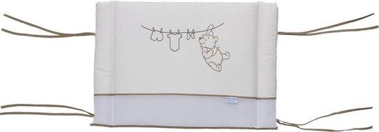 Afbeelding van Anel Pooh Bakkery Brown - Hoofdbeschermer klein borduur - Bruin/Ecru
