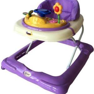 Afbeelding van 4Baby - 1st Steps Loopstoeltje - Purple