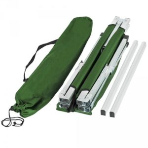 Afbeelding van 2*XL veldbed campingbed camping bed camping/ draagtas groen 401999