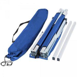 Afbeelding van 3*XL veldbed campingbed camping bed camping/ draagtas blauw 402003
