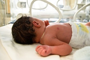 vroeggeboren baby